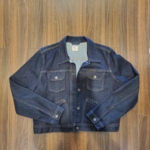 🌲 NWOT GAP Dark blue jean jacket
